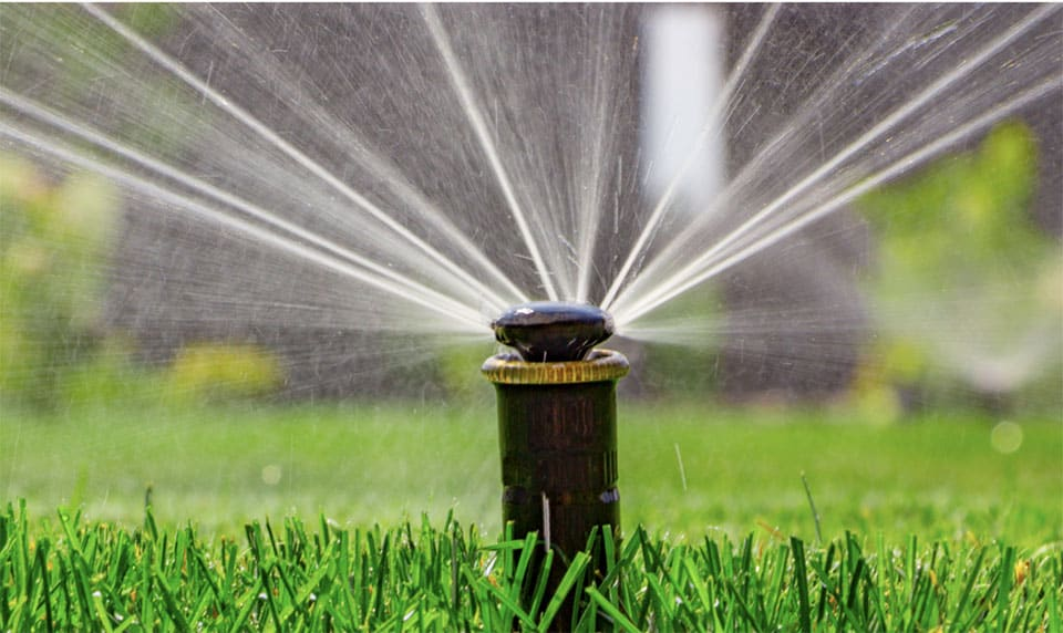 Irrigation systems by O'Connor Landscape
